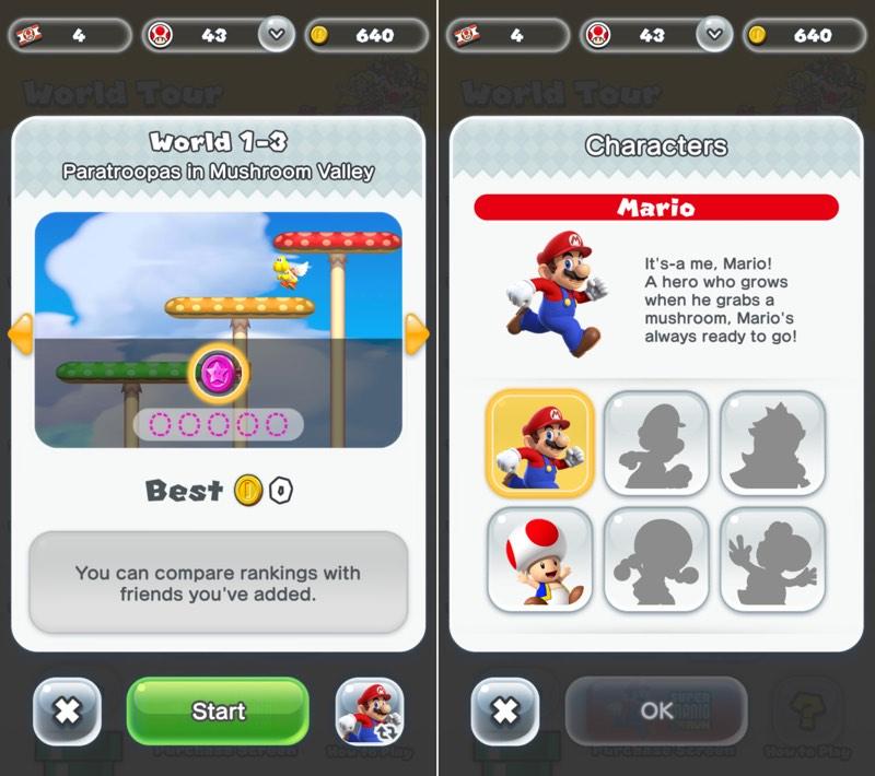 Mario Run Font