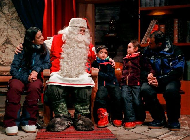 A visit to the Lapland home of Santa Claus in Finland