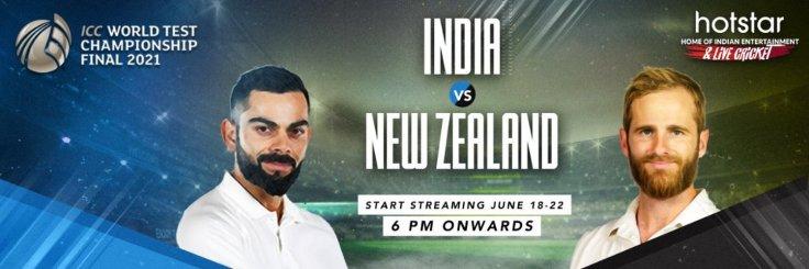 India vs New Zealand Live WTC Final