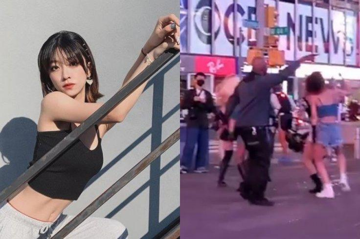 Chinese Dancer Sexually Harassed in Times Square