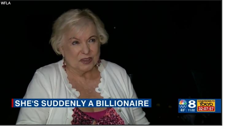 Julia Yonkowski Finds $1 Billion in bankaccount