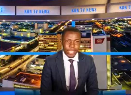 Kabinda Kalimina KBN TV News Anchor