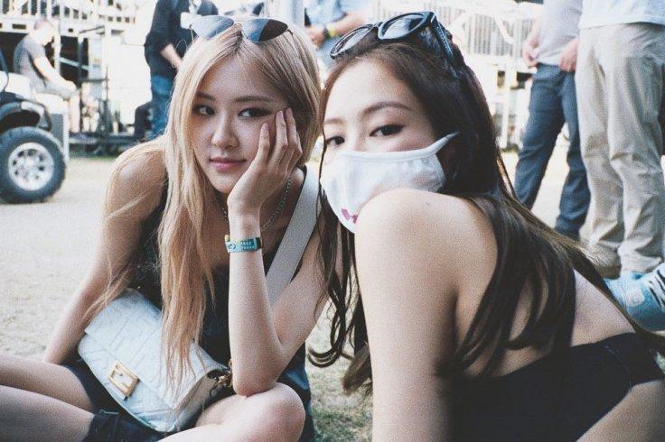 Blackpink's Jennie and Rose