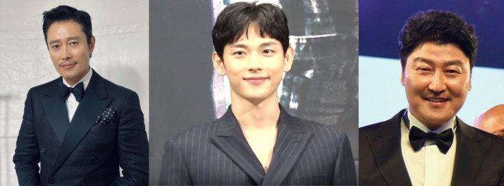 Korean Actors Lee Byung Hun, Im Siwan, and Song Kang Ho