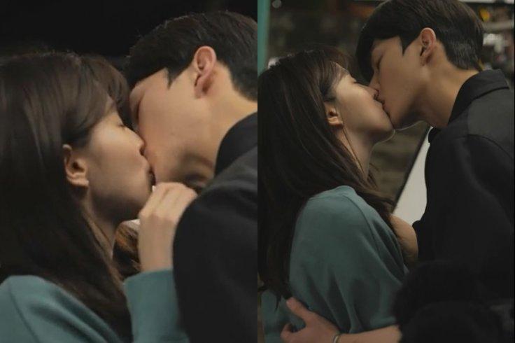 Han So-hee Kisses Song Kang Share in Nevertheless.