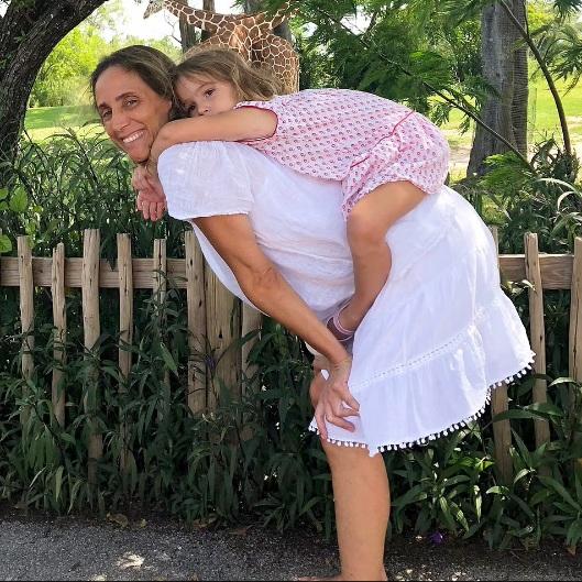 Stella with Graciela