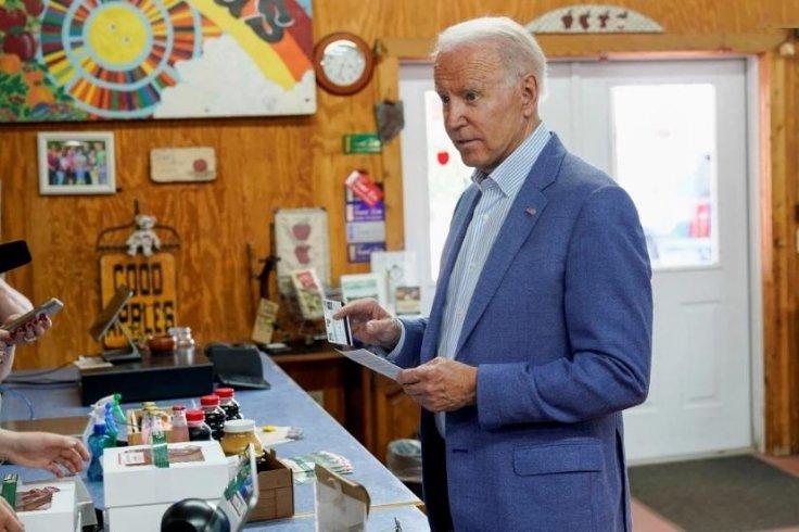 Biden fumbles