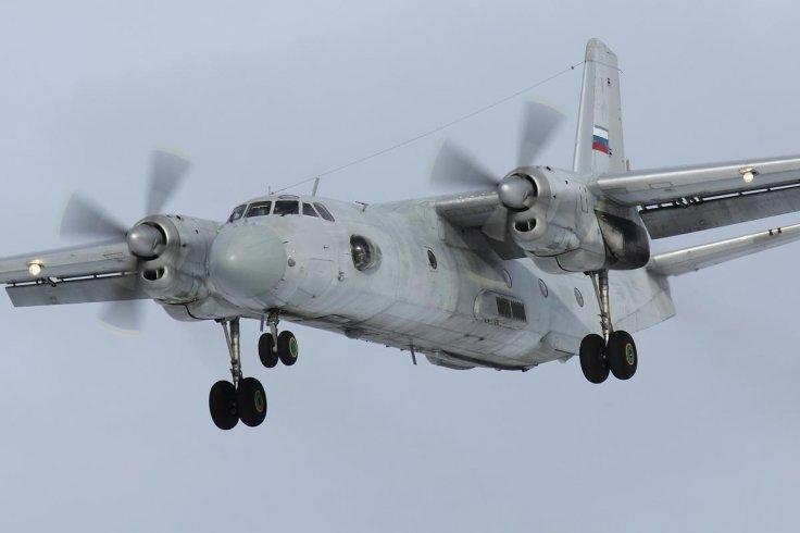 Russia AN 26 aircraft