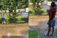 water hose Karen