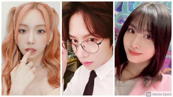 Taeyeon, Kim Hee Chul and Momo