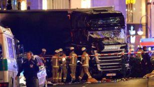 berlin terror attack as lorry plows into crowd killing 12