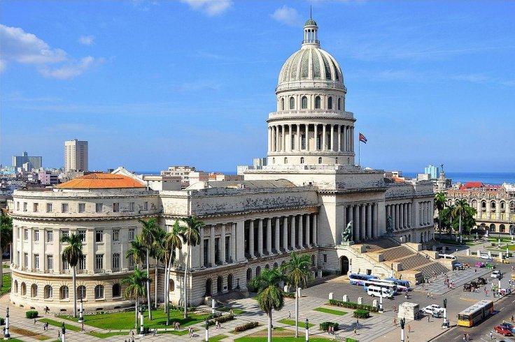 The Cuba State Capitol (El Capitolio) in Havana.
