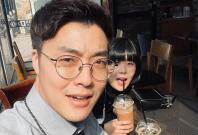 Ha Jun Soo with Ahn Ga-yeon