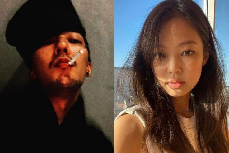 G-Dragon and Blackpink's Jennie