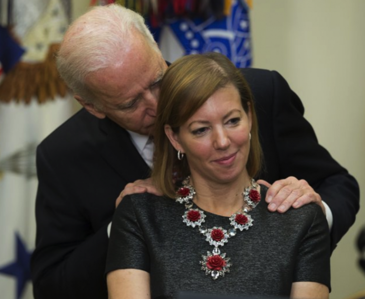 Biden and Stephanie Carter
