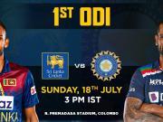 India vs Sri Lanka Live Cricket