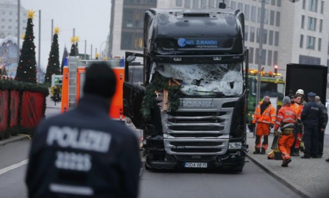 Isis claims berlin truck attack