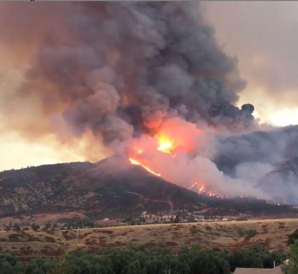 Yucaipa wildfire