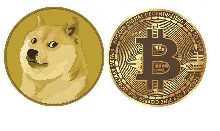 Dogecoin Bitcoin Cryptocurrency