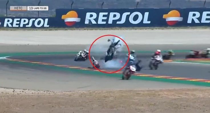 Hugo Millan Crash