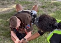 Texas Cop Pin Down Black Teen