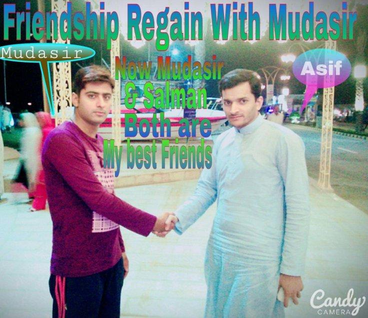 Muhammad Asif Raza Rana and Mudasir Ismail