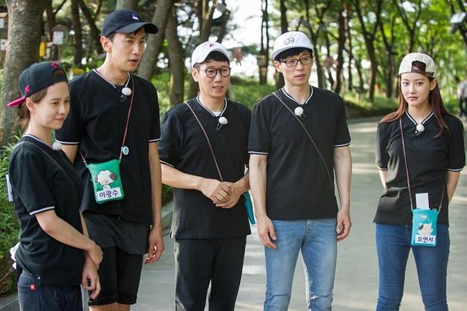 Running Man cast