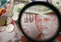 asian currencies rise