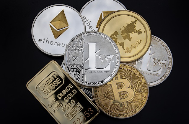 Cryptocurrency Coins Tokens