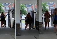 Woman assaults minor