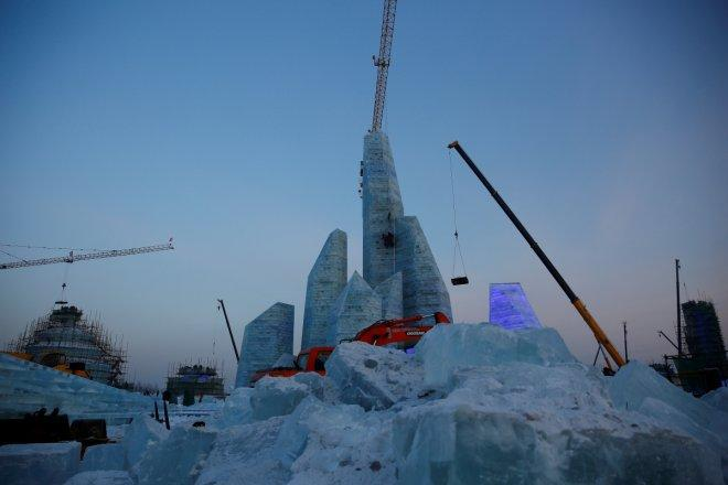 In Pictures: It's snow time! Chinese city glitters at Harbin International Ice and Snow Sculpture Festival