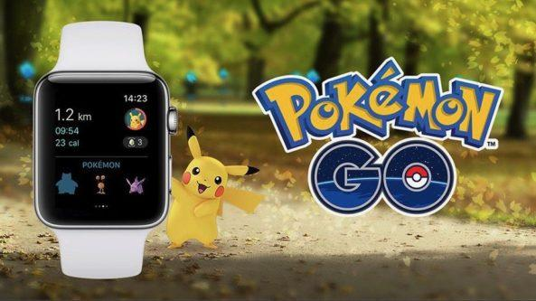 Pokemon GO for Apple Watch now available