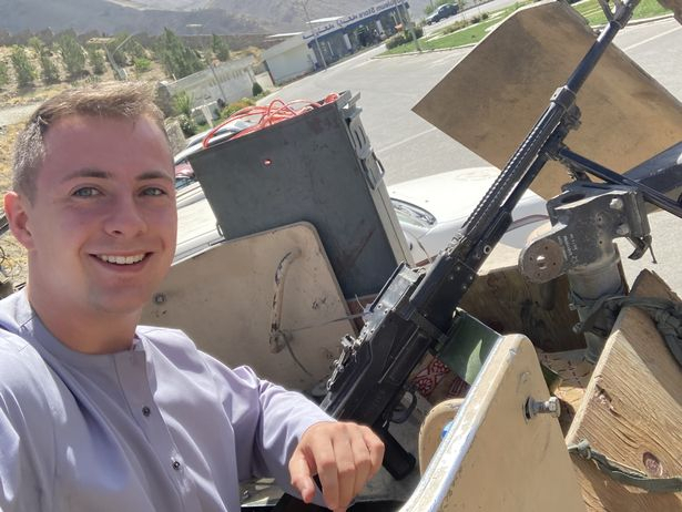 Miles Routledge British Student Afghanistan Trapped Taliban