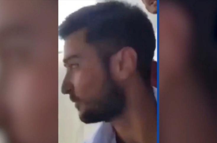 Afghan Man recording himself