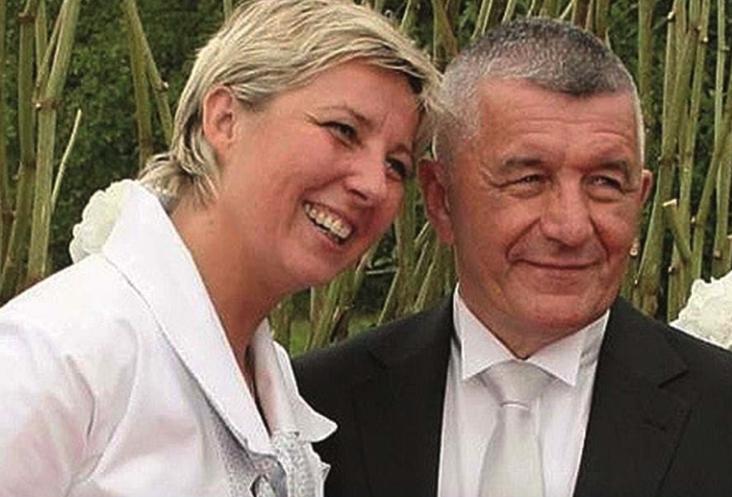 Nathalie Mailet and Franz Dubois
