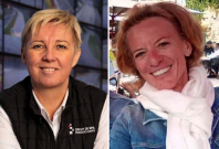 Nathalie Maillet and Ann Lawrence Durviaux
