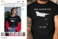 Kabul Skydiving Club t-shirt