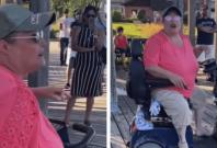 'Racist Mobility Scooter Karen'