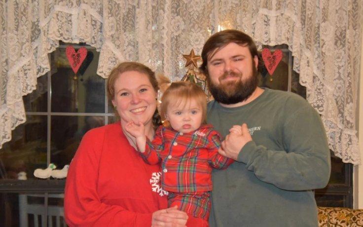 Haley Mulkey Richardson with husband