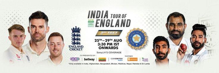 India vs England Live Streaming