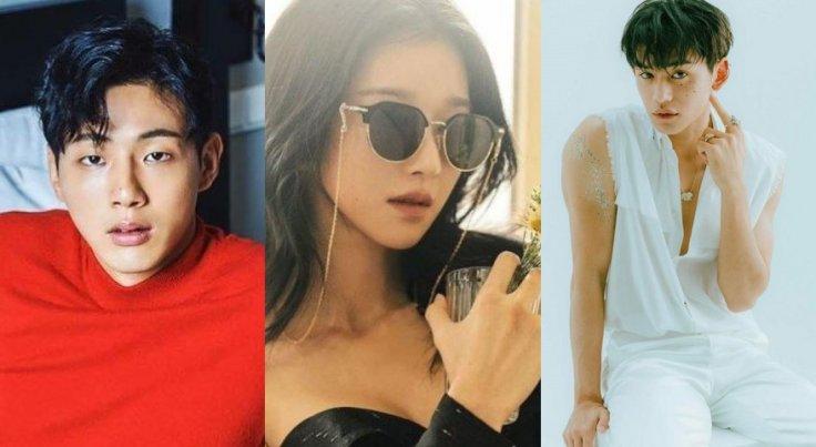 Ji Soo, Seo Ye Ji, Lucas Wong
