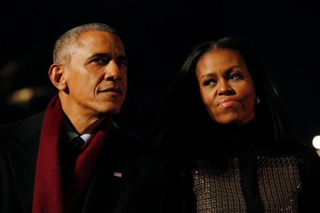 Obamas send their final Christmas message from White House