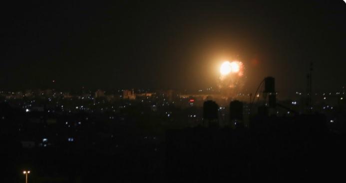 IDF strikes Gaza
