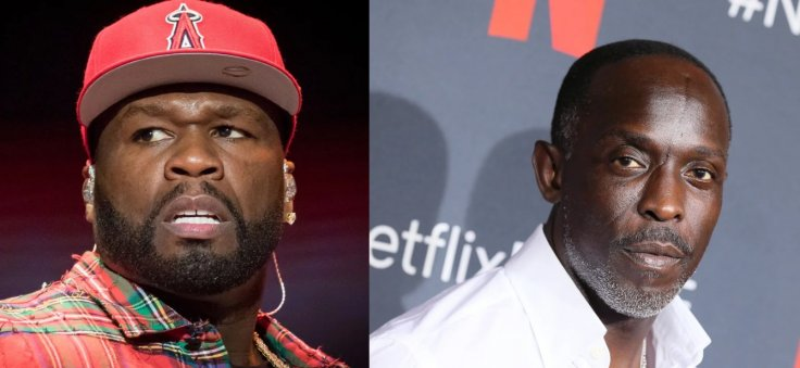 50 Cent and Michael K Williams