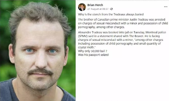 Justin Trudeau's brother Alexandre Trusseau