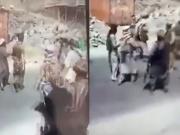 Taliban execution video