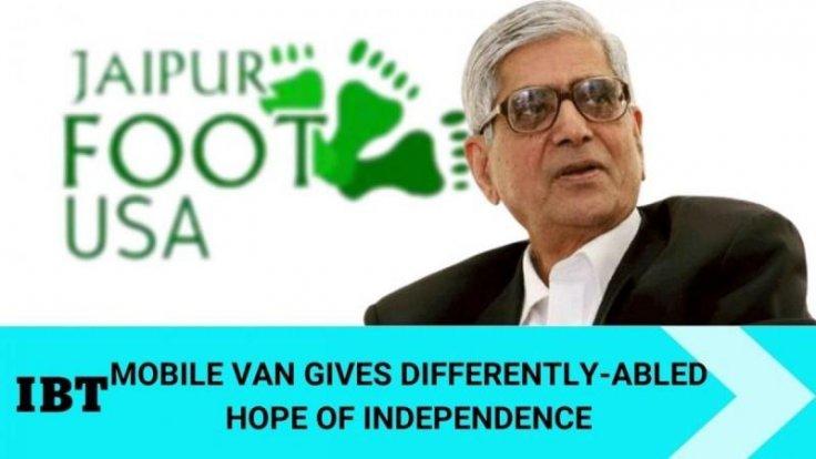 Padam Bhushan D. R . Mehta founder and Cheif patron BMVSS 'Jaipur foot'