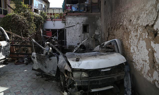 ISIS Kabul drone strike