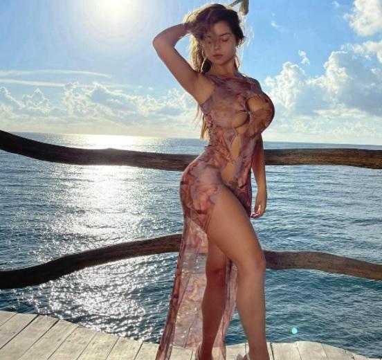 Demi Rose hot photoshoot