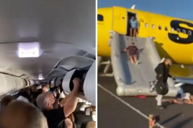 Spirit Airlines fire